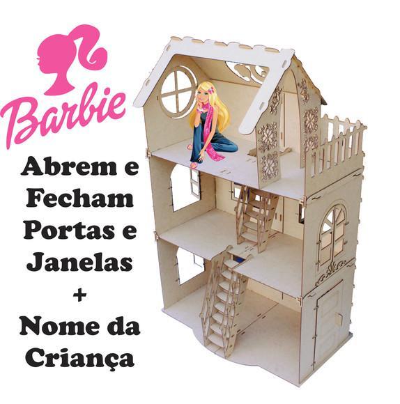 Casinha para Boneca Barbie