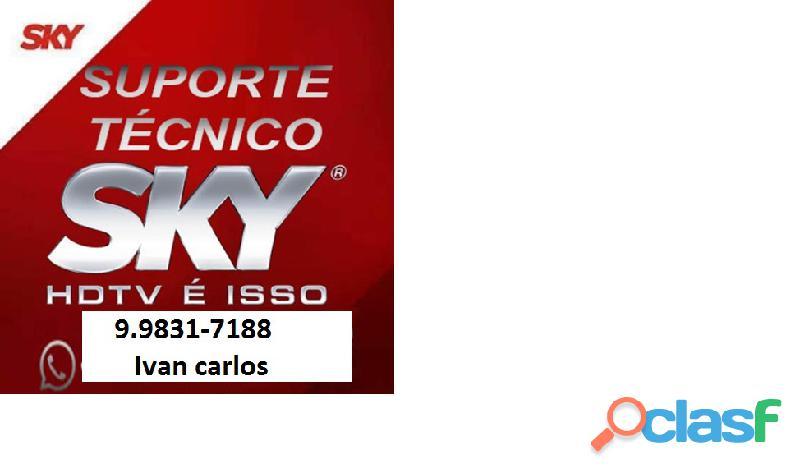 Instalador de tv a Cabo Sky e UHF. 3