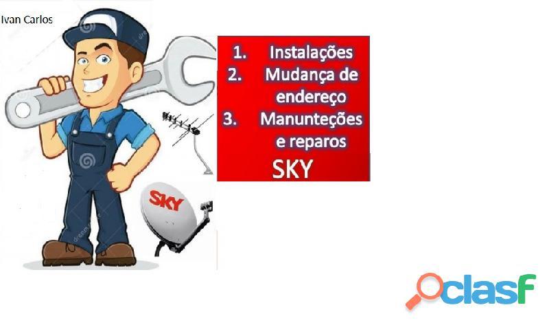 Instalador de tv a Cabo Sky e UHF. 5