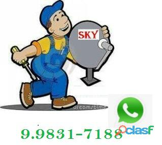 Instalador de tv a Cabo Sky e UHF. 8