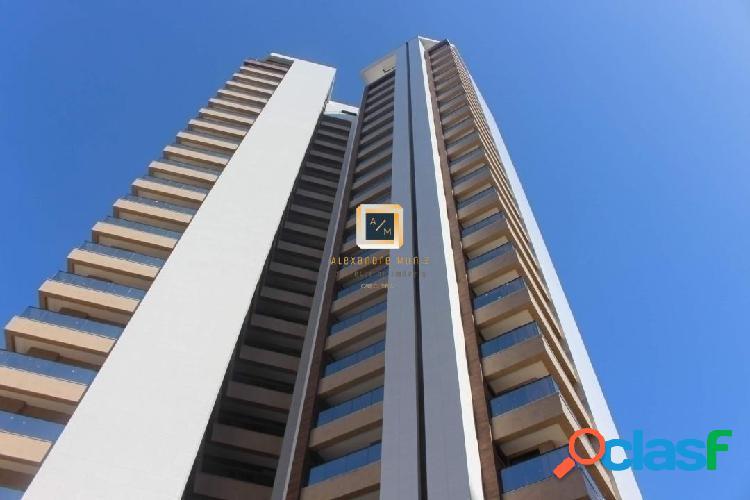 San paolo residence, apartamento no meireles, 3 suítes, 3 vagas.