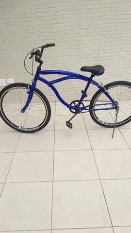 Bicicleta aro 26 em bom estado só pega e anda