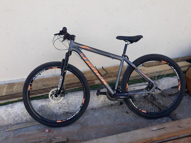 Bicicleta aro 29 tks com suspensão e freio a disco 21m