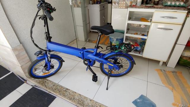 Bicicleta elétrica aro 20, 350w, 21 marcha shimano