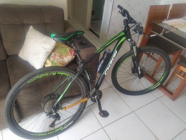 Bike oggi 7.1 toda no shimano slx tamanho 17 aro 29