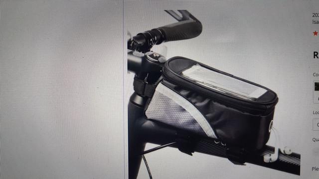 Bolsa impermeável bike