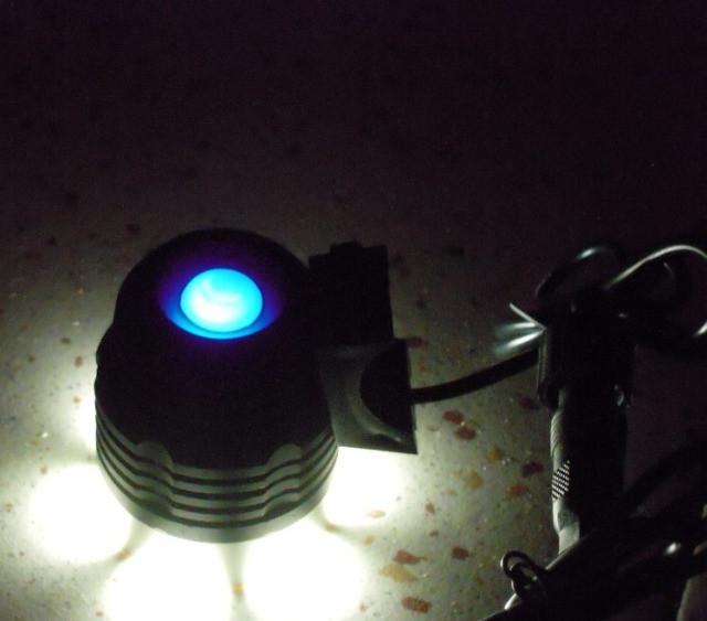 Novo) farol de bike e lanterna de cabeça