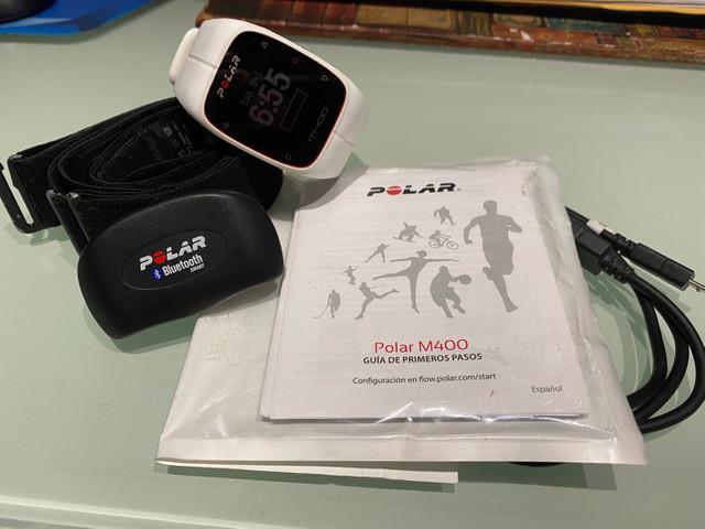 Polar m400 - monitor cardíaco com gps