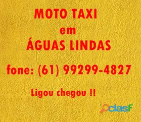Moto Taxi, em Águas Lindas