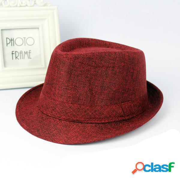 Chapéu panamá aba larga