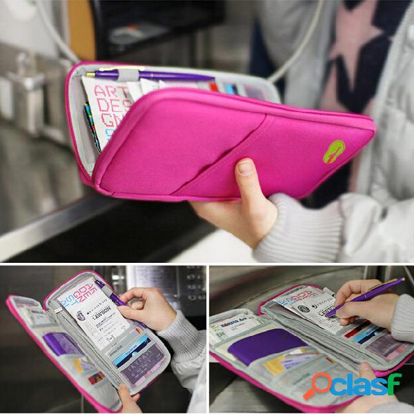 Bolsa de armazenamento multifuncional portátil para cartão