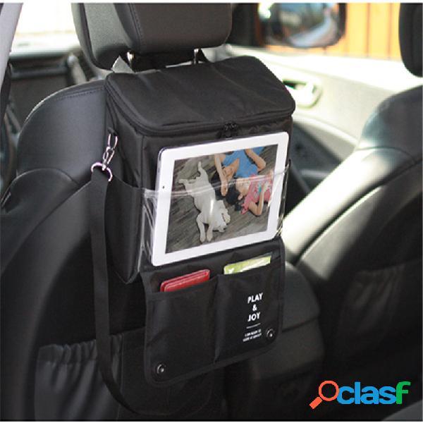 Honana hn-x1 armazenamento de assento de carro multifuncional bolsa alimentos bebidas piquenique de preservação de calor bolsa