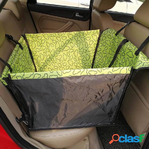 Assento traseiro traseiro do carro impermeável para animais de estimação tampa protetora cobertor rede para gato cachorro