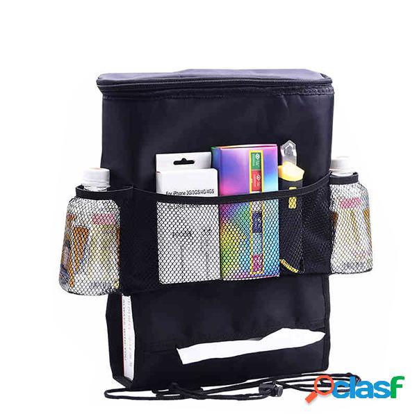 Armazenamento multi-funcional do assento de carro bolsa oxford heat fresh mantendo bolsa