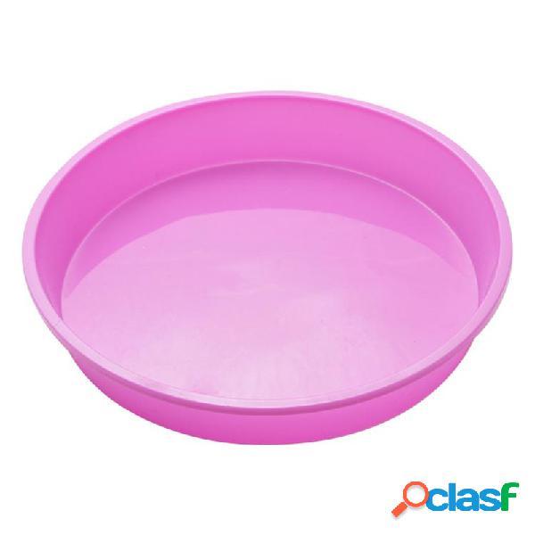 Bolo de forma redonda molde silicone molde de cozimento muffin casos liner cupcake baking mold bolos bakeware
