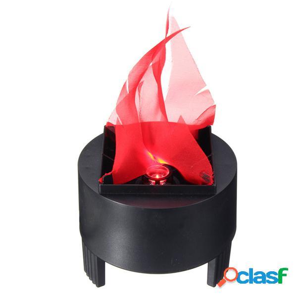 3w prop led lâmpada de chama falsa tocha pote de fogo decoração de casa ac85-260v