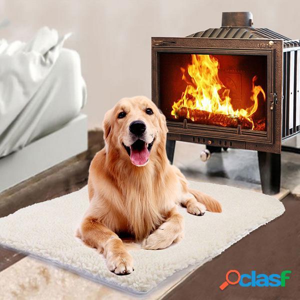 Tapete de auto-aquecimento inverno pet mat grande lavável pet cachorro gato auto-aquecimento mat cama pad almofada quente travesseiro térmico