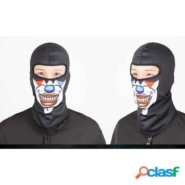 Homens mulheres equitação à prova de vento máscara chapéus de suor secagem rápida respirável máscara