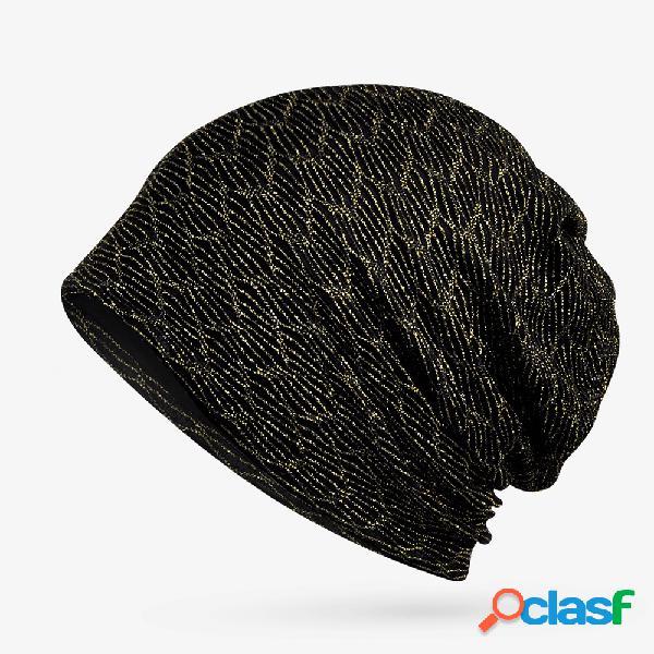 Mulheres primavera verão fino respirável multifuncional cabeça cap gorro cap ambos os chapéus e lenço de uso