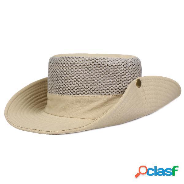 Pesca caça dos homens ao ar livre militar ampla brim caps bucket chapéus chapéus de viagem de lazer caps