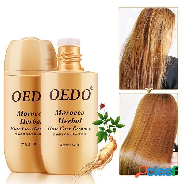 Soro de cuidados com os cabelos herbal ginseng marroquino anti hair loss essência tratamento de cabelo serum cabelo reparação