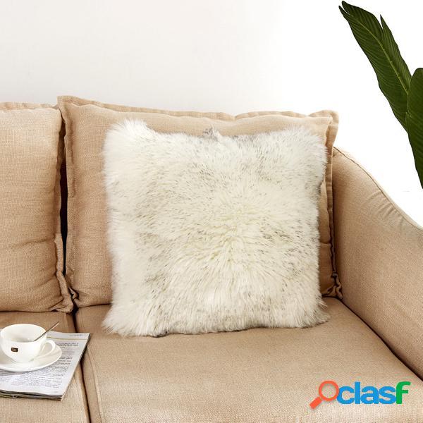 40 * 40 centímetros de pelúcia macia sofá macio cadeira fronha capa de almofada