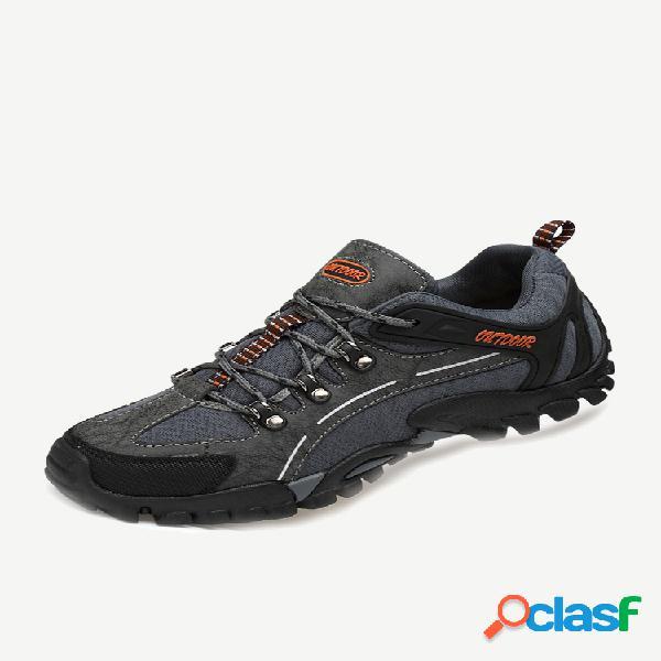 Tênis de tecido masculino anticolisão antiderrapante soft sola casual tênis para caminhada