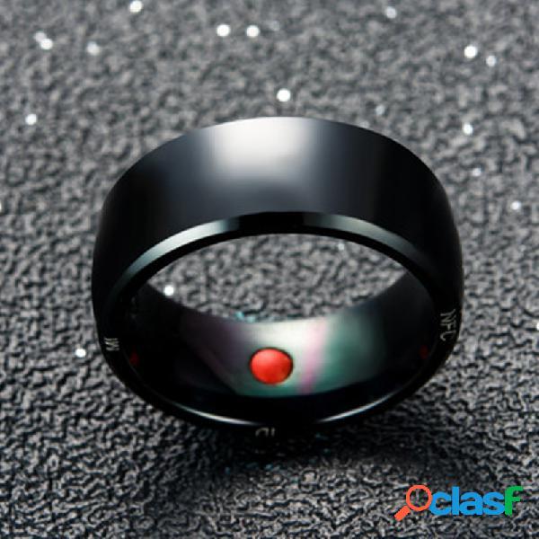 Anel de dedo esperto mágico multifuncional esperto da etiqueta de nfc dos anéis espertos do estilo da forma para o ios do andróide