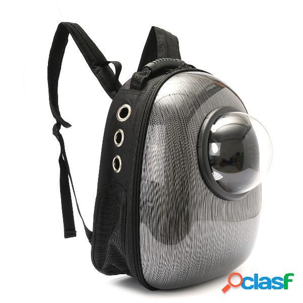 Mochila para astronauta transparente respirável para animais de estimação cachorro mochila cat travel carrier bolsa