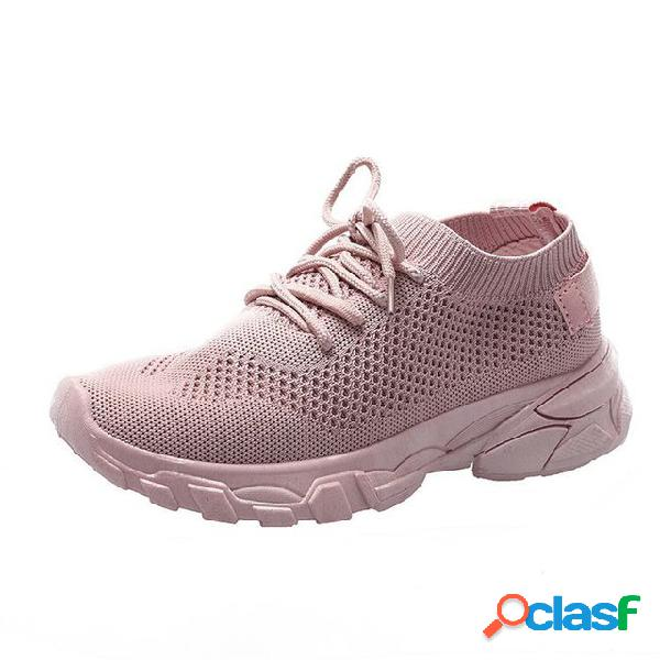 Calçados femininos sapatos de corrida temporada novos sapatos casuais leve tênis de corrida sapatos de viagem temporada selvagem respirável sapatos de esportes