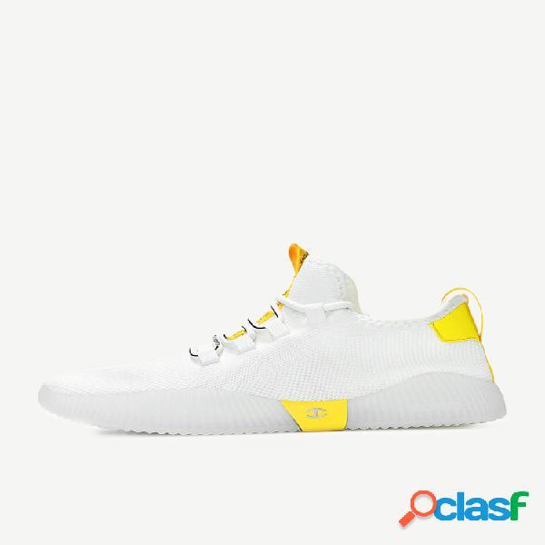 Homens malha respirável sapatos casuais esportes