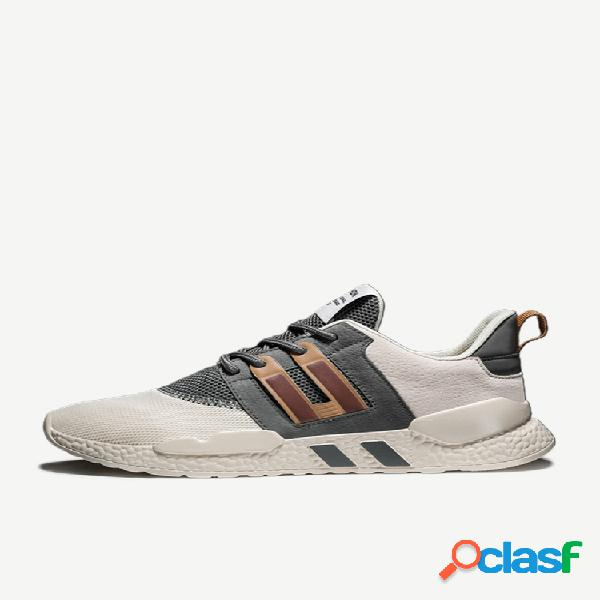 Homens respirável caminhadas casual running sports shoes