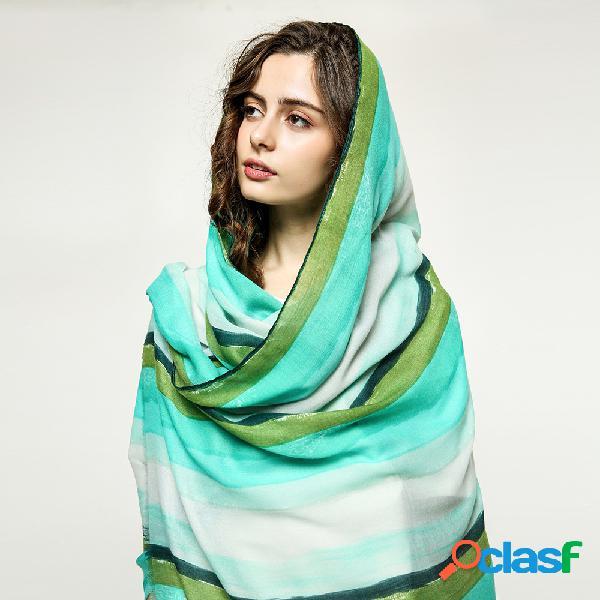 Cachecol de estilo étnico impresso grosso da mulher quente anti-mite sunshade shawl scarves
