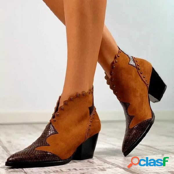 Botas de tamanho grande para mulheres botas pontiagudas