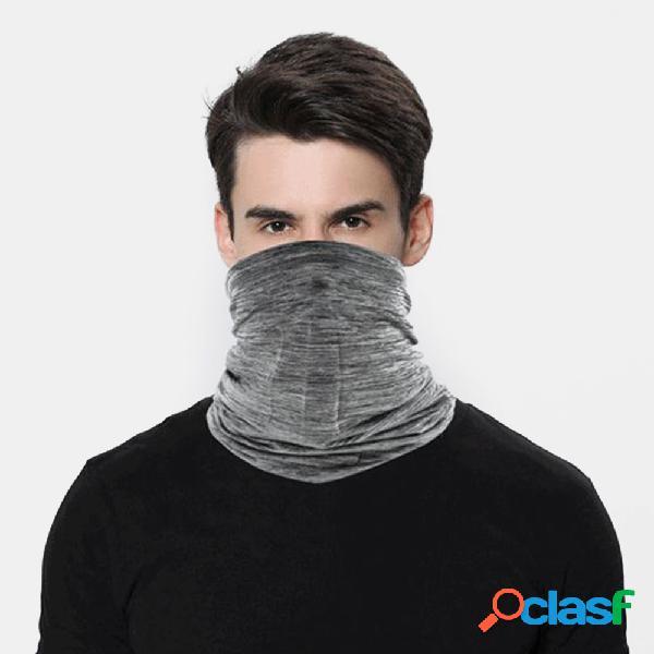 Protetor solar de seda gelo turbante lenço triangular protetor solar respirável para equitação máscara