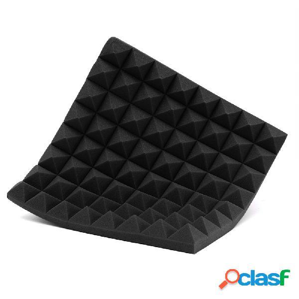 Tratamento painéis de espuma acústica à prova de som tiles studio absorption
