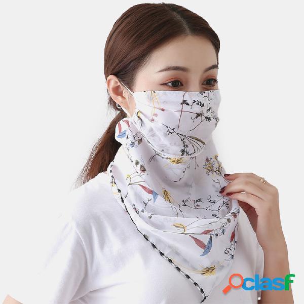 Respirável secagem rápida verão equitação ao ar livre máscara impressão protetor de pescoço protetor solar cachecol máscara