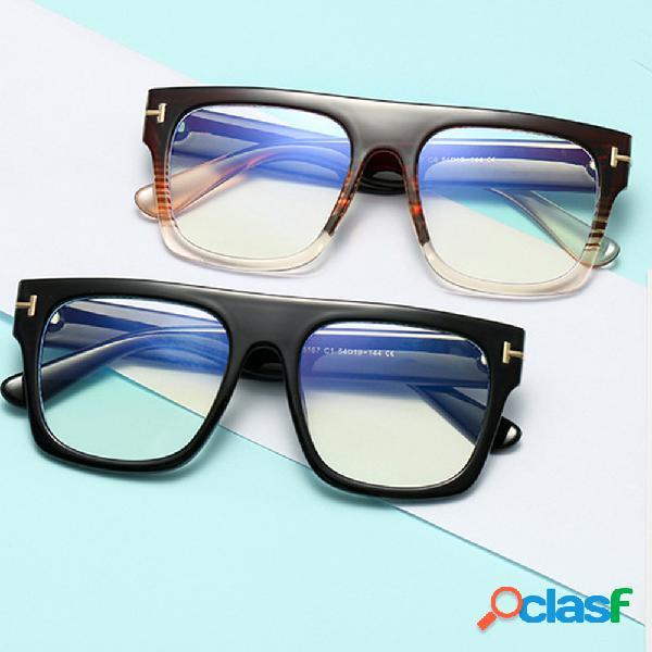 Nova luz anti-azul óculos tr90 óculos óptica óculos bloqueio de luz azul óculos