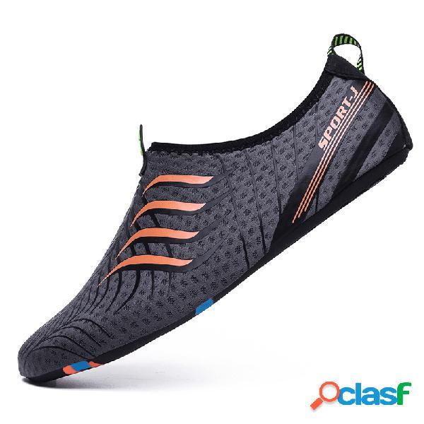 Homens multifuncional confortável soft sola antiderrapante qucik drying casual diving shoes