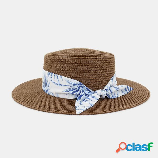 Mulheres viagem de férias praia chapéu palha jazz chapéu proteção solar sol chapéu