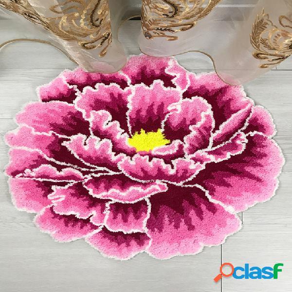 Tapete rosa criativo tapete para sala de estar em casa tapete para cadeira de computador tapete de cabeceira da moda
