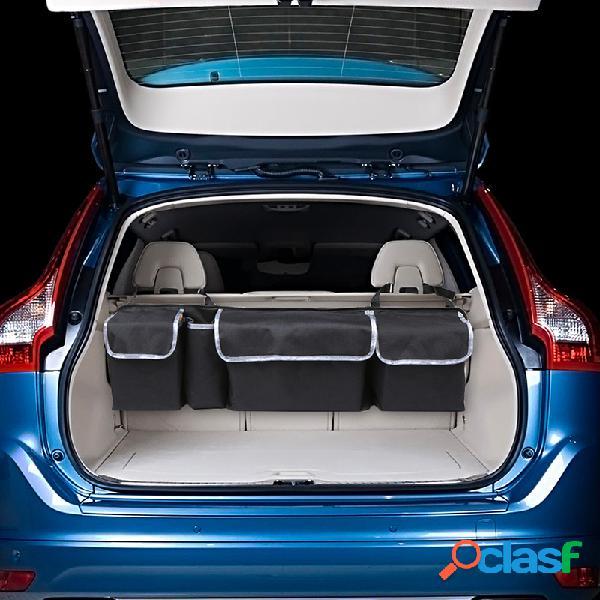 Armazenamento de carro multifuncional de pano oxford bolsa recipiente de armazenamento de assento de carro suspenso bolsa ao ar livre bolsa