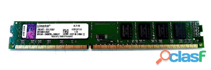 2 Slots de Memoria Kingston 4 Gb Ddr3 1333
