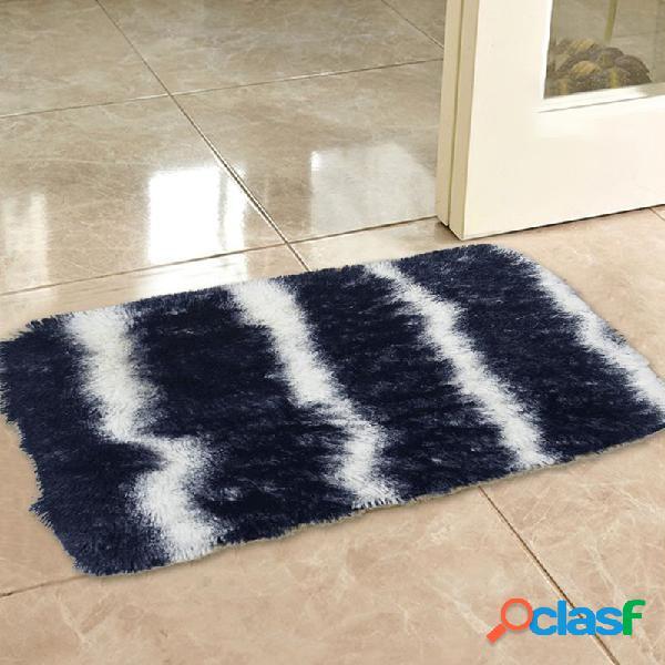 Tapete multicolorido tapete de porta quarto banheiro tapetes de área de tapete antiderrapante para casa