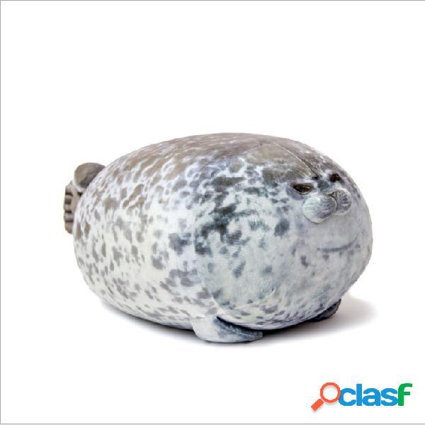 Brinquedos de pelúcia de leão-marinho em 3d - almofadas soft de pelúcia
