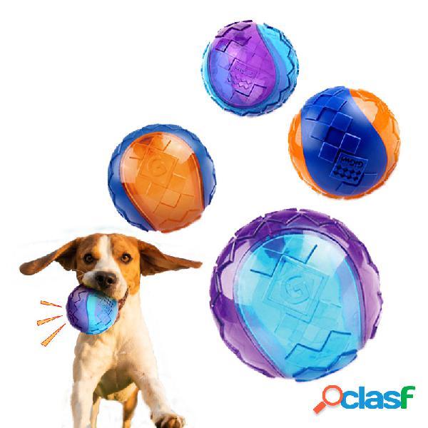 Cachorro chew toy ball interactive cachorro treinamento inflável grind teeth ball para jogos ao ar livre em casa