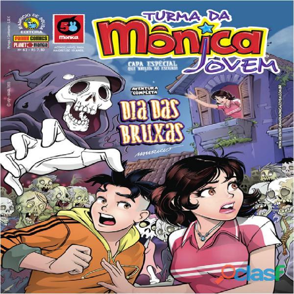 Gibis da Série Turma da Monica Jovem 15