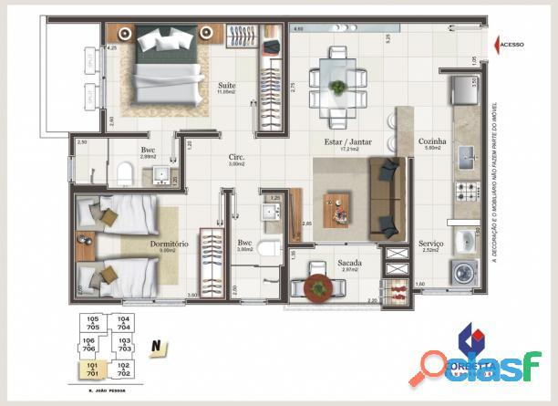 Maraville Centro Criciúma apartamento venda 1