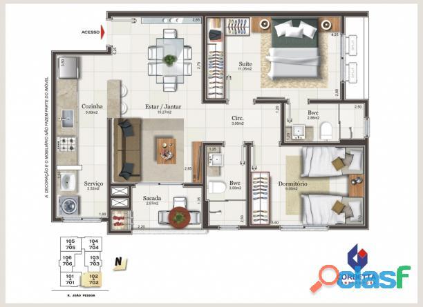 Maraville Centro Criciúma apartamento venda 2