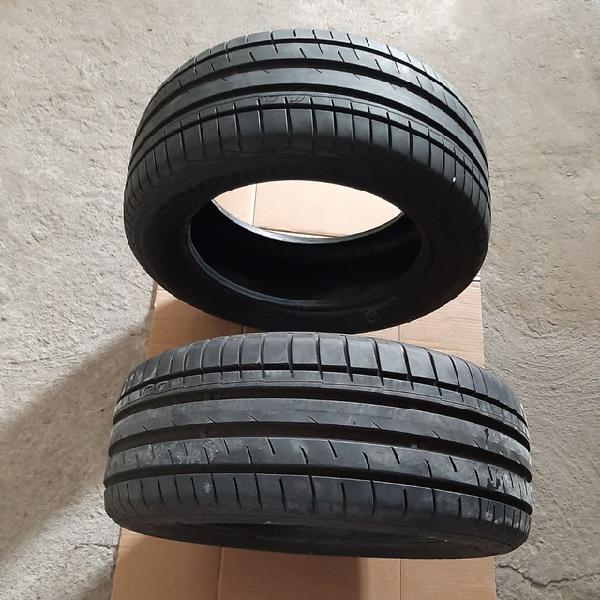 2 pneus continental semi novo pouco uso 550.00reis